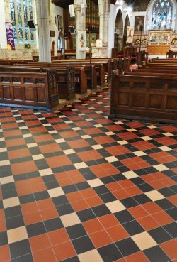 Featured Here Is The Edinburgh A Clical Victorian Floor Tile Pattern