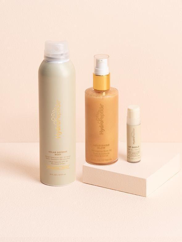 Sunkissed Essentials Set Linen Spray Skin Care Kit Beauty Bar Boutique