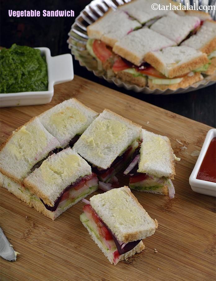 Vegetable Sandwich ( Mumbai Roadside Recipes )