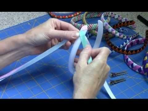 Woven Ribbon Headband Tutorial - YouTube