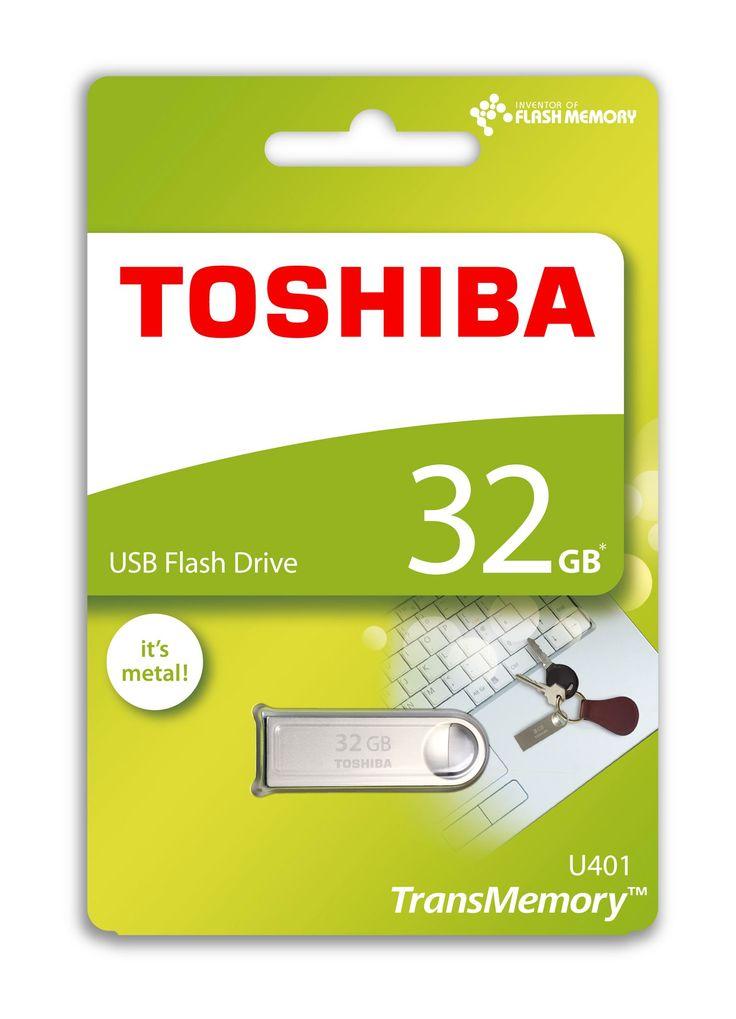 TOSHIBA THN-U401S0320E4 32GB USB 2.0 METAL OWAHRI
