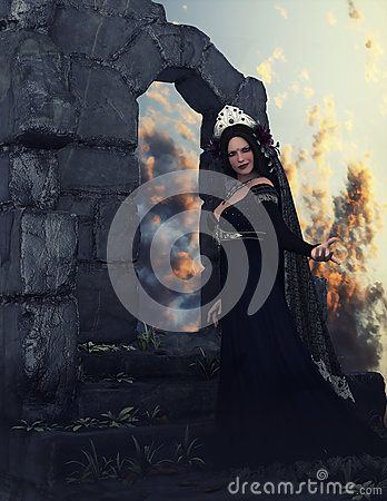 The Dahlia Queen Among Ruins - Download From Over 41 Million High Quality Stock Photos, Images, Vectors. Sign up for FREE today. Image: 67716919