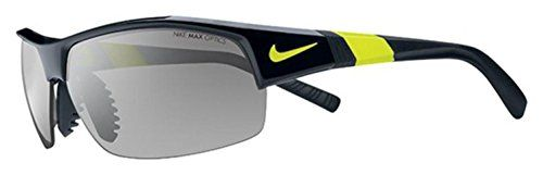 Nike Show X2 Sunglasses, Black/Voltage, Grey with Silver Flash/Outdoor Lens