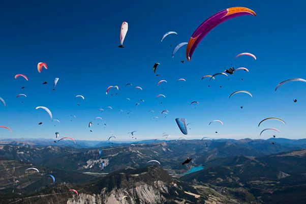 Paragliding in Greece
