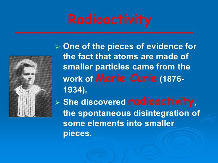 Marie curie the discovery of a lifetime