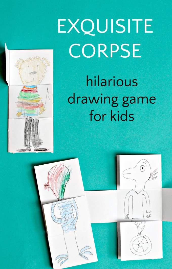A great book filled with silly drawing games for kids. Love this collection of art projects that are fun and make everyone laugh.
