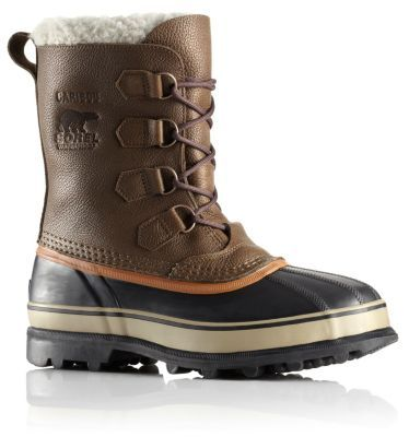 SOREL MEN'S CARIBOU® WOOL BOOT - This version of the classic Caribou has the same waterproof construction, full-grain leather upper and iconic silhouette you know and love, but comes with a wool inner boot instead of felt to keep feet warm, dry and cozy during activities in winter weather.