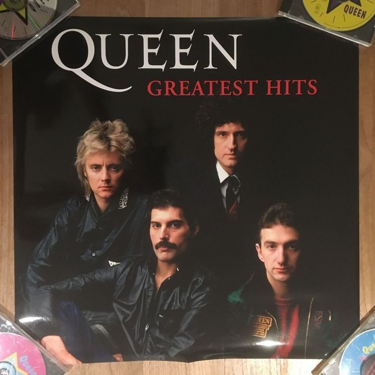 Queen - Greatest Hits - Thailand - Universal glossy promo poster 60 x 60 cm RARE