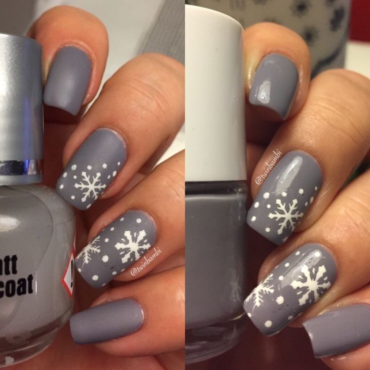 @appeal4  Fluffy Cloud m. Hollis Milkweed.  Matt top coat from Appeal4 Snowflakes from @vinailicious15