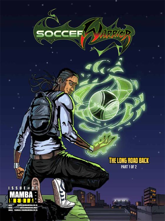 Soccer Warrior January 2014 issue cover