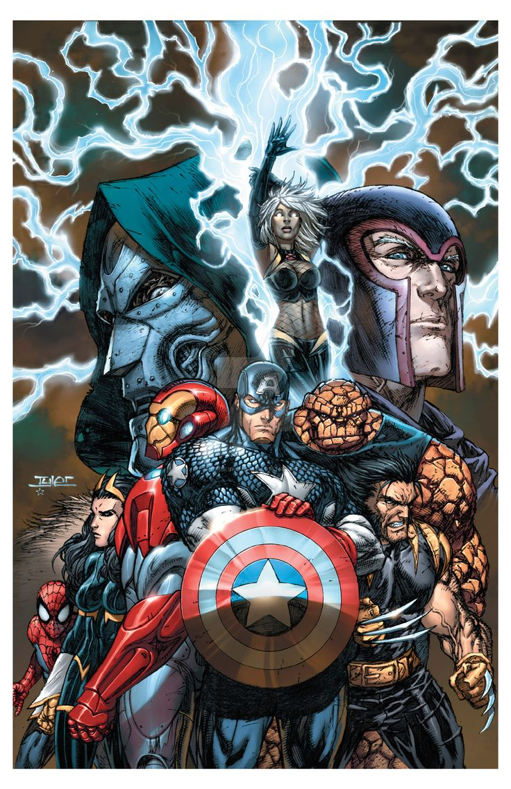Marvel by TylerKirkham on DeviantArt