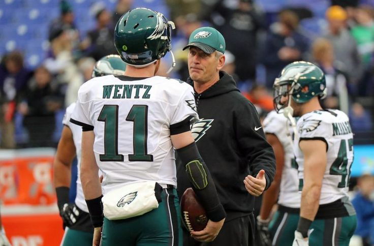 Frank Reich discusses Carson Wentz, his coach and the Eagles offense