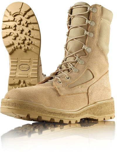 Wellco Mens 8 Inch Temperate Weather Waterproof Combat Boots # T114