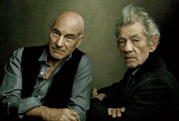 Patrick Stewart & Ian McKellen are excellent! October's Best Entertainment Photography -- Vulture