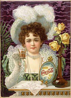 *COCA-COLA ~  5cents  1900