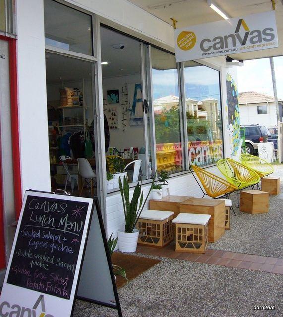 Canvas, Nobby Beach - coffee + art lessons