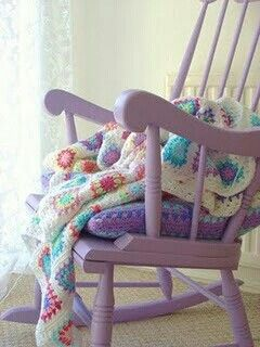 I don't know picture is nostalgic, I remember those ugly itchy blankets when I was a kid.