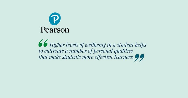 Higher levels of wellbeing in a student helps to cultivate a number of personal qualities that make students more effective learners. These qualities include things like perseverance, the ability to bounce back from failure and having a growth mindset. Students can develop these qualities or character strengths through practise, which helps them throughout their learning journey.