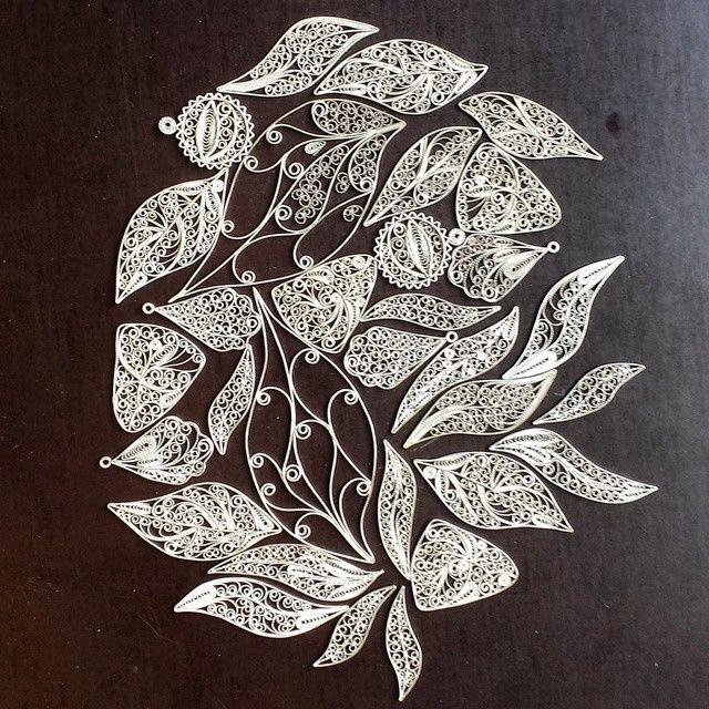 Instagram media by silverfiligree - Silver filigree #silverfiligree #filigraan…