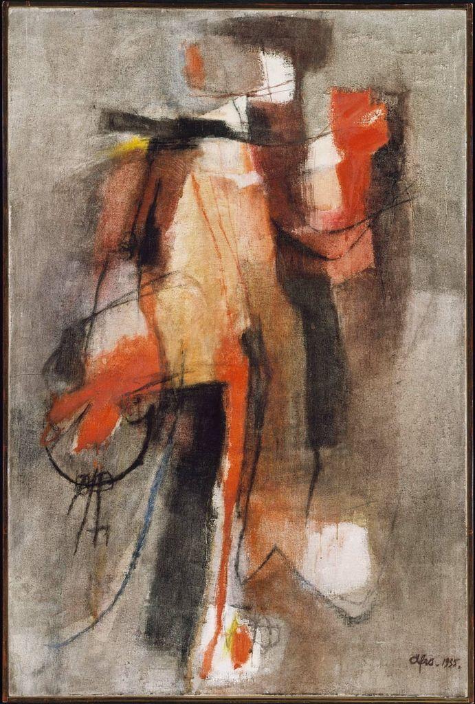 Afro Basaldella - Night Watchman, 1955.
