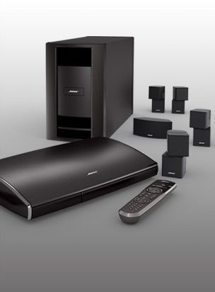 Bose® Lifestyle V35® Home Entertainment System - This is in my future, so I can connect the entire pad...
