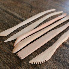 Wooden Modelling Tools