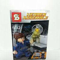 Brick Lego SY Agent Maria Hill / Lego bootleg