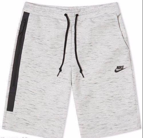 Nike Tech Fleece Shorts 1M Men's Size Large Grey 628984 051 Heather  #Nike #Shorts