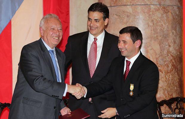 Senado recibe al Ministro de Asuntos Exteriores de España