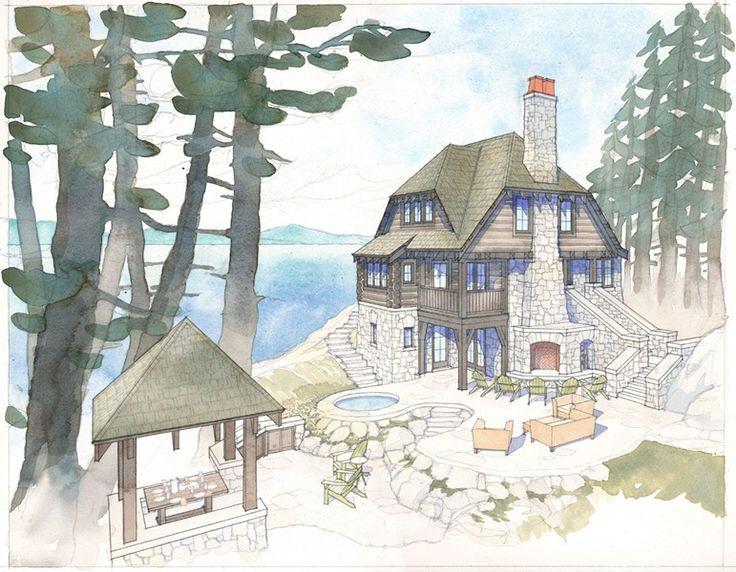 102 Best Cabin Planning Building Design Images On