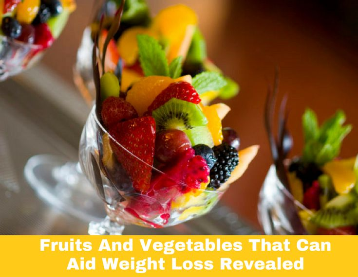 Fruits And Vegetables That Can Aid Weight Loss Revealed #thehealthythings