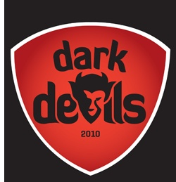 Mørke IF - Dark Devils. Danish floorball club started in 2010!