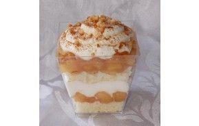 Lepelgebak - Dessert appeltaart