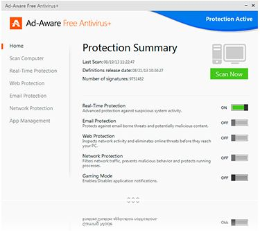 Free Ad-Aware - computer antivirus software