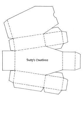 Bettys-creations: Anleitung Halloween-Särge - Halloween coffin