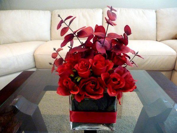 Best ideas about red wedding centerpieces on pinterest