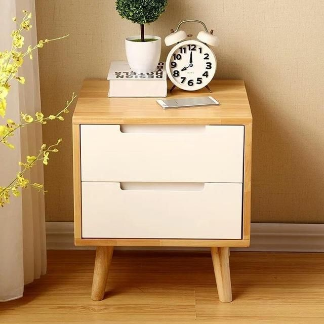 Nordic Modern Minimalist Table Small Apartment Mini Color Bedside Lockers Cabinets