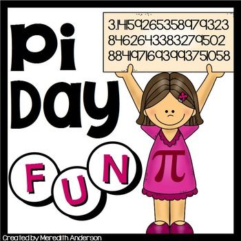 Pi Day Fun! Circle Themed Math and Art Activities; Pi Day is March 14th!