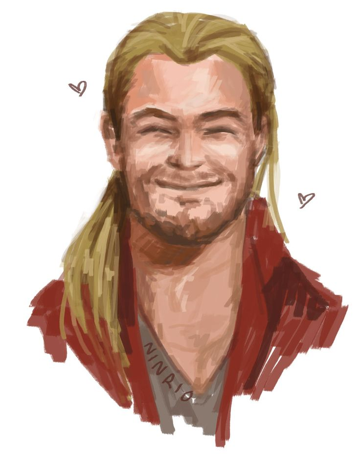 """ninrio:  """" 30 day drawing challenge Day 19 - Something new  Two new things!! Coloring technique and happy AoU-Thor ♥  Click for bigger!  """""""