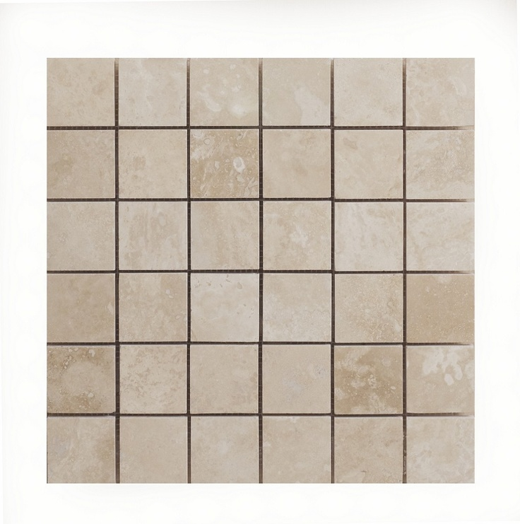 Prestige Stone Radiant Travertine Mosaic Xcm Topps Tiles Bathroom Ideas Pinterest Topps