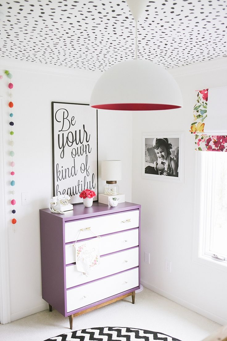 Modern Girls Bedroom: 192 Best Images About Stenciled And Painted Ceilings On