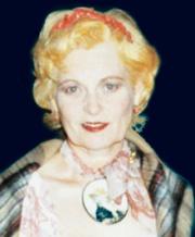 Vivienne Westwood wearing a coral tiara of  her own design. � Vivienne Westwood.
