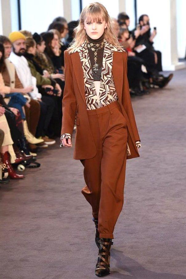 86526a056c Collection CHLOÉ Winter 2019 - PARIS*** | Favoric in 2019 | Fashion ...