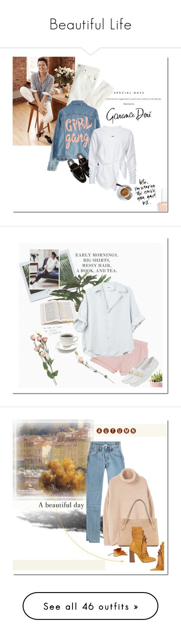 """""""Beautiful Life"""" by elena-777s ❤ liked on Polyvore featuring Massimo Dutti, J.Crew, High Heels Suicide, Essie, STELLA McCARTNEY, autumnwinter2016, Ethan Allen, Aspinal of London, Araks and Prada"""