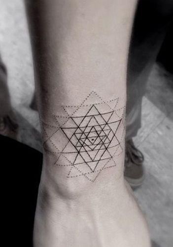 Tattoo Styles Guide: Sacred Geometry Tattoos -