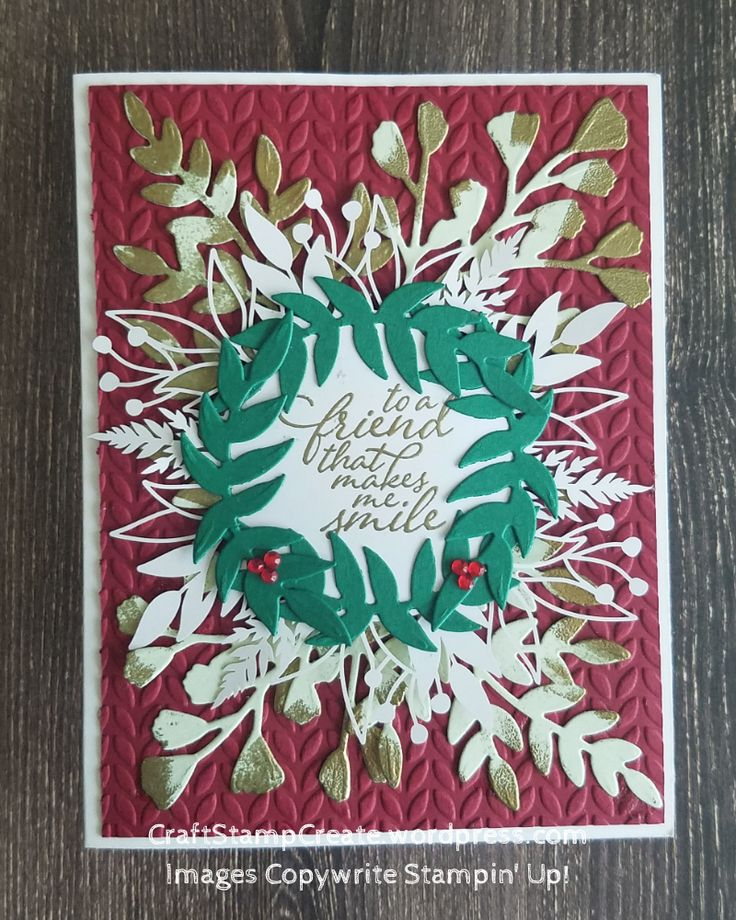 Forever christmas greenery in 2020 stampin pretty