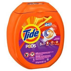 Tide Pods Spring Meadow Liquid Laundry Detergent, 81 count 71floz : Target