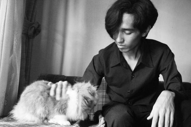 Akbar de Wighar a.k.a Berydw and his pet rabbit. #KARTENZ #ANIMATION