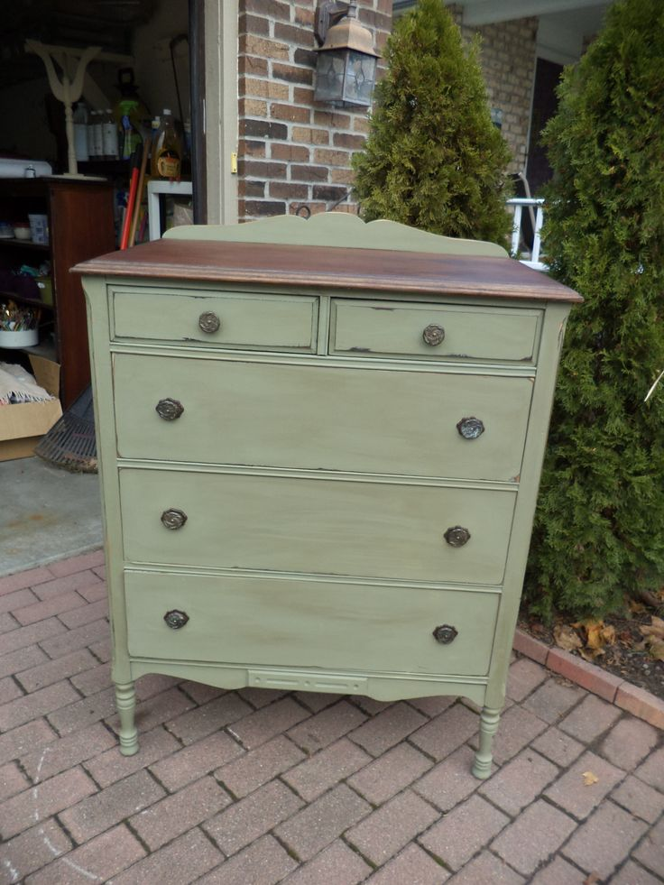 Painted Chest Of Drawers Shabby Chic