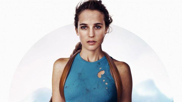 Alicia Vikander Tomb Raider HD 4K